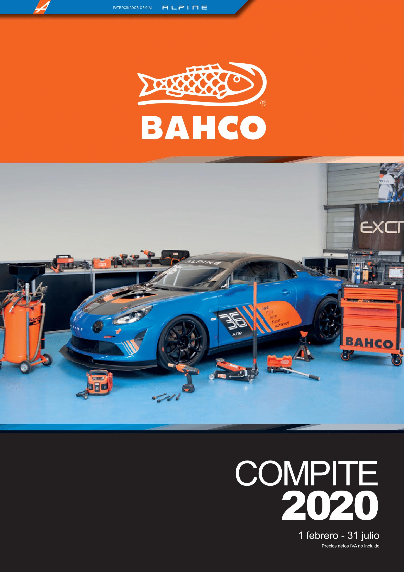 BAHCO COMPITE 2019